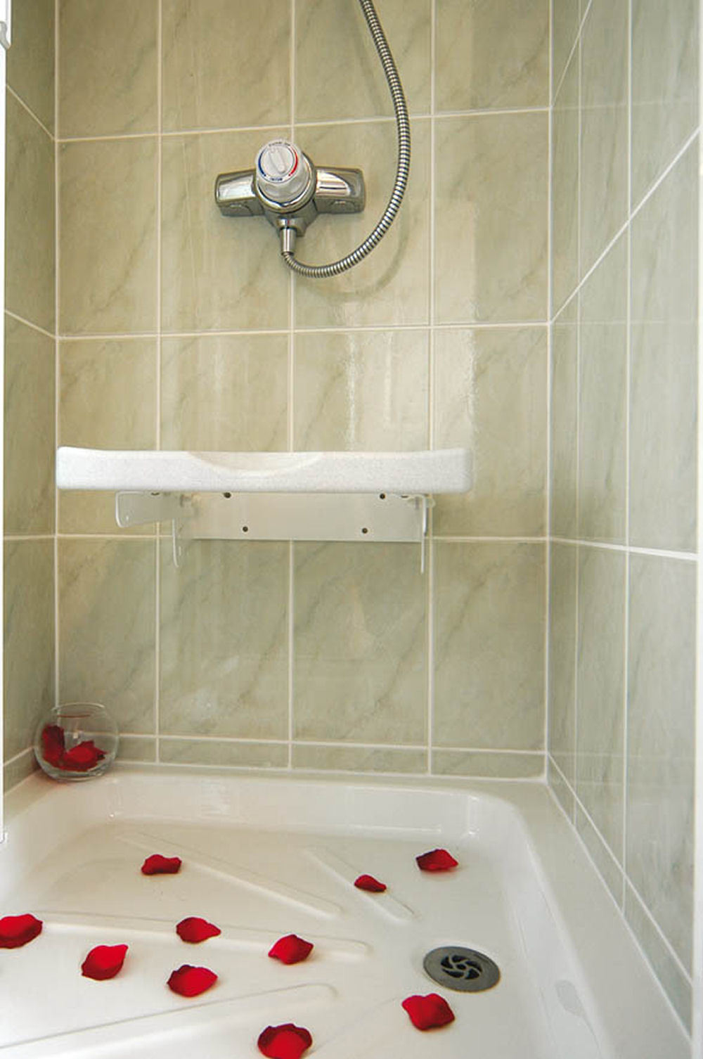Drop Down Shower Seat - Shower Seats (Wall Mounted) - Benches ...