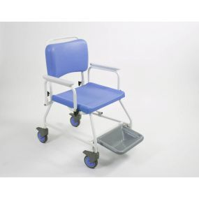 Atlantic Bariatric Commode & Shower Chair - With Footrests (22