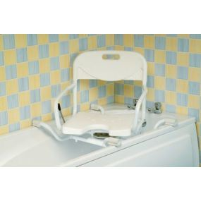 Width Adjustable Swivelling Bath Seat