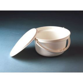 Commode Pan With Lid