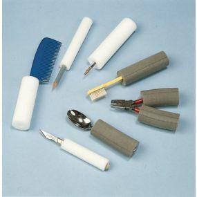 Thick Plastazote Foam Tubing - 6mm/31mm (Grey)
