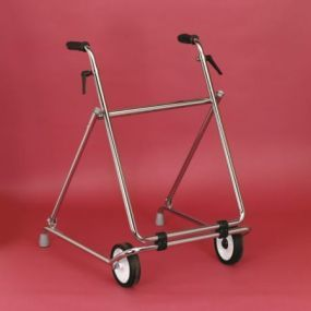 Two Wheeled Folding Walker