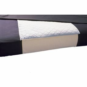 Absorbent Bed Protector With Tucks - Blue (36 x 36