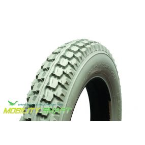 Cheng Shin - Pneumatic Grey Tyre (Block Pattern C628) - 12.1/2 X 2.1/4