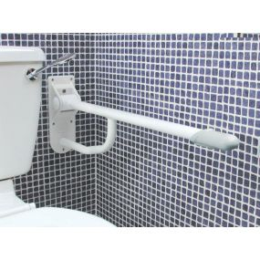 Cast Aluminium Drop Down Grab Bar - Standard