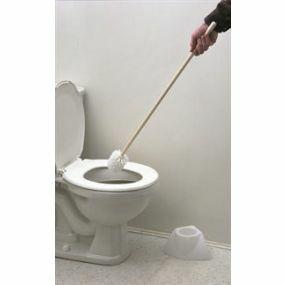 Extended Toilet Brush