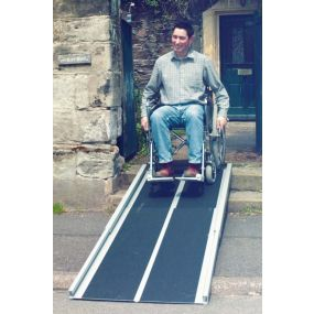 Handicare Telescopic One Piece Ramp
