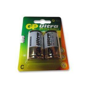 GP Ultra Alkaline Batteries - Type C