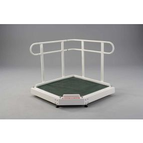 Fiberglass Adjustable Height Platform - 91cm