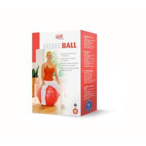 Sissel Exercise Ball - Red 65cm