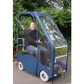 Standard Mobility Scooter Canopy - Slanted Front