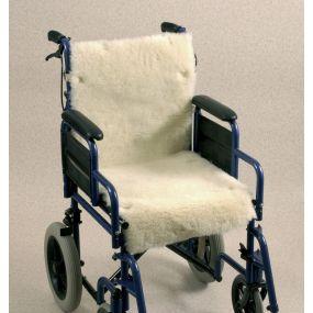Wheelchair Seat & Backrest Fleece Cover