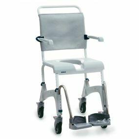 Aquatec Ocean Shower Commode Chair - Attendant