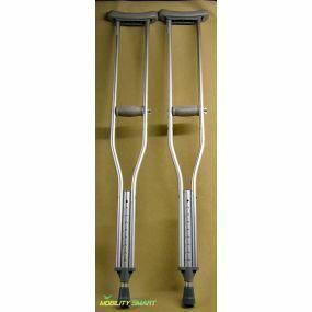 Aluminium Underarm / Axilla Crutch - Large (Pair)