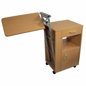 Bedside Cabinet with Overbed Table