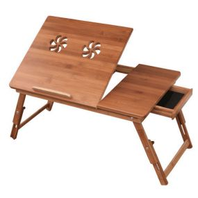 Ventilated Adjustable Wooden Bed Tray