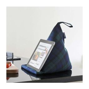 Blue Badge Tablet Cushion- Blackwatch