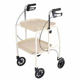 Combination Trolley Walker - Beige