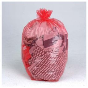 Dissolvo Sack - Red Dissolving Laundry Bags (PK200)