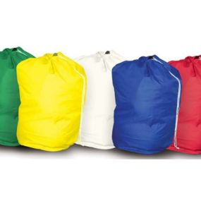 Drawstring Laundry Bag - Red