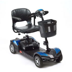 Scout Portable Mobility Scooter - Blue