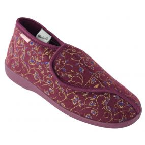 Dunlop Betsie Ladies Booties - Size 3 (Burgundy)