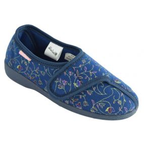 Dunlop Bluebell Ladies Slippers - Size 7 (Blue)
