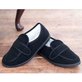George Comfort Shoe For Men Size 6 (Black)