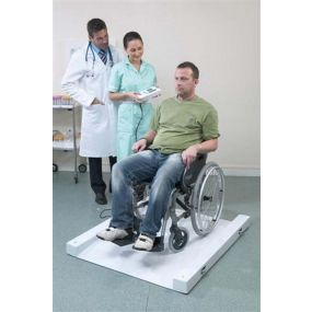 MARSDEN™ Portable Wheelchair Weigher with BMI - MWC-300 with Printer