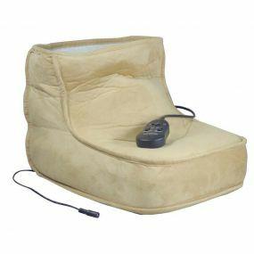 Massage Boot with Heat - Beige