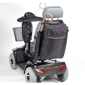 Mobility Scooter Bag With Stick / Crutch Holder