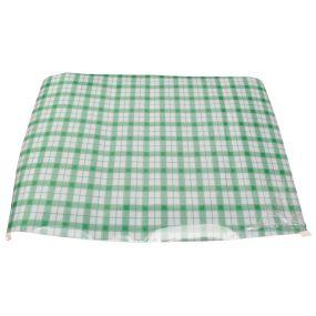 Dycem Tray Mat - Green & White Check