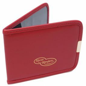 Plastic Blue Badge & Timer Wallet - Maroon