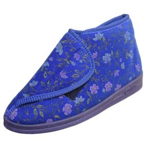 Ladies Andrea Bootees - Size 5 (Royal Blue)