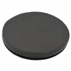 Shine Velour Cover Turning Cushion - Grey (15.5x2