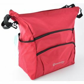 Deluxe Coloured Wheelchair Bag - Red