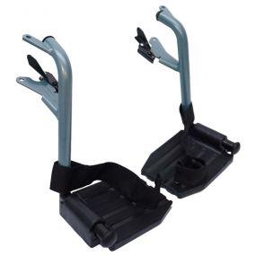 Escape Lite Wheelchair - Transit - Silver/Blue - Replacement Footrests
