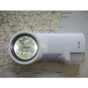 High Multiple Lighted Magnifier - 9 X Magnification