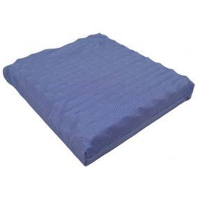 Putnams Sero Pressure Bonyparts Convoluted Stockinette Cover Cushion - Blue (19.25x19x3