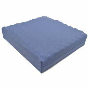 Putnams Sero Pressure Coccyx Convoluted Standard Foam Stockinette Cover Cushion - Blue (17x16x4