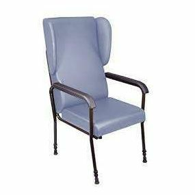Chelsfield Height Adjustable Chair - Blue (Flat Packed)