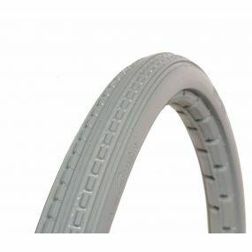 GreenTyre - Solid Grey Wheelchair Tyre - 24 X 1 3/8 (37 x 540)