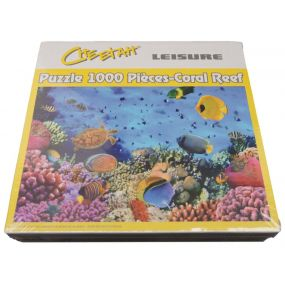 1000 Piece Jigsaw Puzzle - Coral Reef