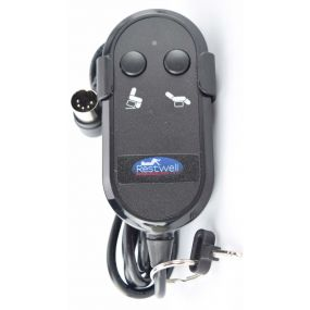 Drive Medical / Restwell 5 Pin (Small Type) Riser Recliner - Replacement Handset (2 Button)