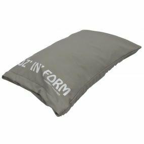 Poz 'n' Form Vinyl Cover Cushion - Grey (14x15x4