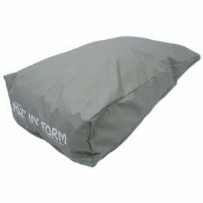 Poz 'In' Form Pressure Relief Heel Cushion - Grey (19x12x4.75