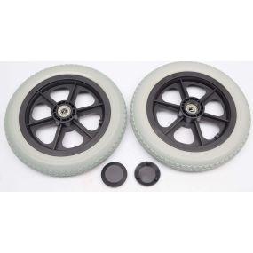 Puncture Proof Wheelchair Wheel & Tyre - 12 X 2.1/4 (Pair)