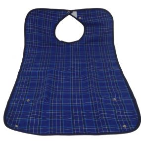 Everyday Adult Bib - Large (Blue)