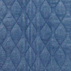 Velour Chair Pad - Blue