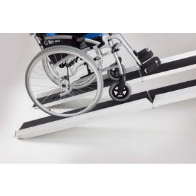 Scooter Ramp with Black Grip Surface